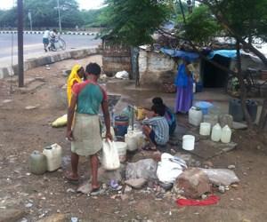 water stress india
